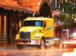 Mack mDrive HD Available and standard in the Mack Granite Trucks